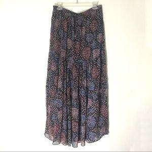Maeve / Anthropology Moon Lake Maxi Skirt